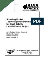 Sounding Rocket
