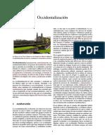 Occidentalización(1)
