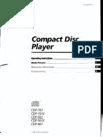 Sony Cdp 761