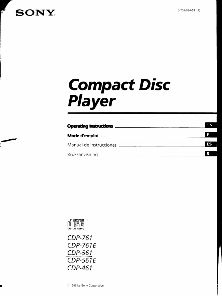 Compact Disc: Piayer