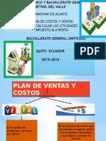 Plan de Costos de Venta