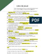 222277219 Examen Libro de Josue