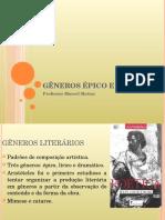 Generos Epico e Lirico