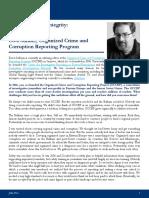 Profile in Public Integrity - Drew Sullivan