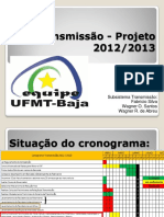 Apresentação 2 e 3 Transmissão 12.05.2012