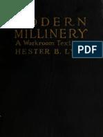 (1922) Modern Millinery Hester B Lyon