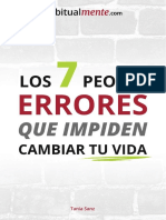 7 Errores eBook