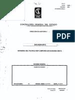 Examen de la Contraloría 2012 Refinería del Pacífico