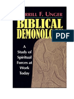 Biblical Demonology_ a Study of - Merrill F. Unger