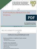 Patologia Maligna de Vulva