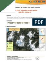 Alud en el nevado Huascarán