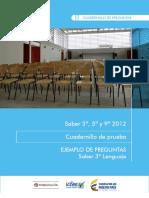 Cuadernillo LENGUAJE 3°_2012 vf