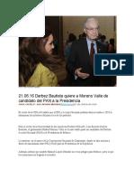 21.06.16 Derbez Bautista Quiere a Moreno Valle de Candidato Del PAN a La Presidencia