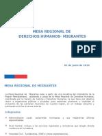 Migrantes en Chile 2016