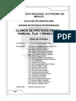 Protesis Parciales y Removibles Examen