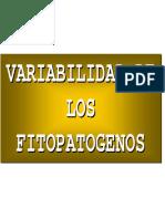 6. Variabilidad de Fitopatogenos