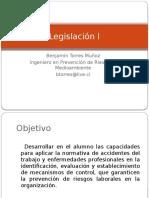 Presentación Legislación I