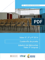 Cuadernillo LENGUAJE 3° 2014 vf