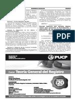 Disposiciones Para Promover La Formación y Adecuación de Las Actividades Del Sector Forestal y de Fauna Silvestre
