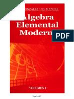 Álgebra Elemental Moderna Vol.1 - M. O. Gonzales, J. D. Mancill - 1ed.pdf