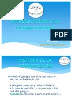 Introduccion y Profesion de La Cosmetología 2016