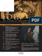 FOTA Newsletter Issue III