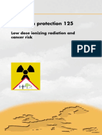 Low Doses of Ionizing Radiation and Cancer Risk