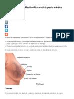 Cáncer de Mama_ MedlinePlus Enciclopedia Médica