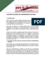 dificultades de la comprension lectora.pdf