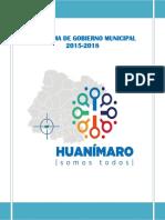PGM Huanimaro 2015 2018