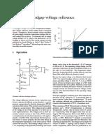 Bandgap Voltage Reference