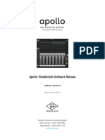 Apollo Software Manual