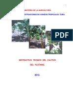 Instructivo Tecnico Del Plátano_Cuba