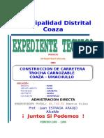 01 - Expediente Tecnico Carretera PERCY