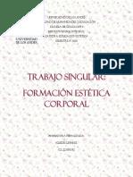 Trabajo Singular de la Formacion Estética Corporal