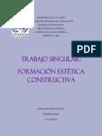 Trabajo Singular de Formacion Estetica Constructiva