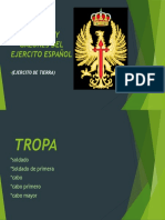 EMPLEOS Y GALONES DEL EJERCITO ESPAÑOL.pptx
