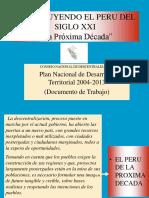 Plan de Desarrollo Territorial