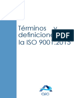 3 Terminos y Definiciones ISO