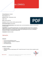 DMSO Especificações