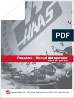 Manual De Fresadora Haas