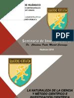 Seminario de Investigación II, 2016
