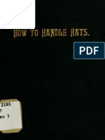 (1905) How to Handle Hats