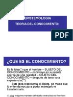 1 CLASE Epistemologia