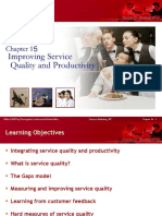 Chapter 15 Improving Service Quality and Productivity