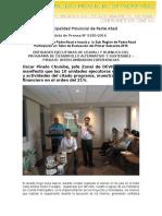 Nota de Prensa 2016 - 185
