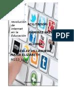 """Importancia de Las Redes Sociales y La Revolución de Internet en La Educación"""""""