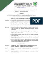 SK Penetapan Indikator SKP Doc