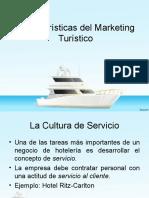 Características de las Empresas de Servicios Turisticos