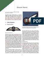 UNIF - RAF Aircrew Brevet